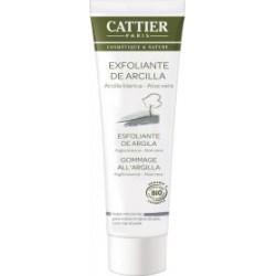 Crema Exfoliante Facial De Arcilla Blanca Todo Tipo De Pieles - Cattier