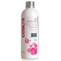 Agua Micelar Desmaquillante Piel Seca y Sensible con Rosas - Coslys