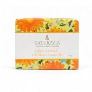 Jabón Natural Caléndula y Manzanilla Calmante - Naturavia