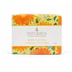 Jabón Natural Caléndula y Manzanilla - Naturavia
