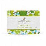 Jabón Natural Exfoliante Pepita de Uva y Café - Naturavia