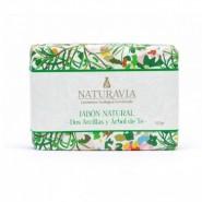Jabón Natural Dos Arcillas y Árbol de Té Regulador - Naturavia