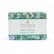 Jabón Natural Romero y Limón Tonificante - Naturavia