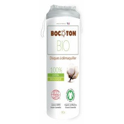 Discos Desmaquillantes Algodón Bio - Bocoton