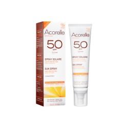 Spray Solar Cara y Cuerpo SPF50 – Acorelle